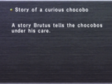 Story of a Curious Chocobo