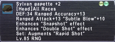 Sylvan Gapette +2