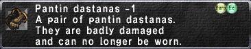 Pantin Dastanas -1