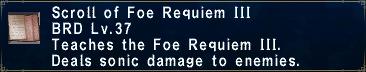 Foe Requiem III