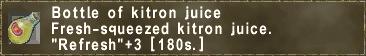 Kitron Juice