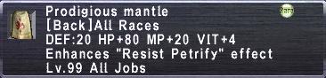 Prodigious Mantle