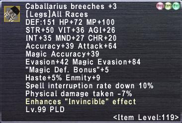 Caballarius Breeches +3