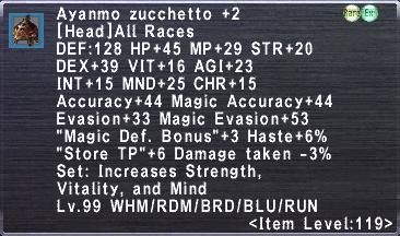 Ayanmo Zucchetto +2