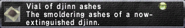 Djinn Ashes