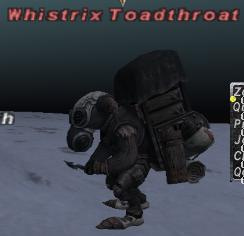 Whistrix Toadthroat