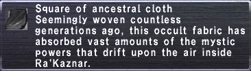Ancestral Cloth