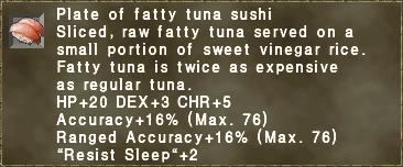 Fatty Tuna Sushi