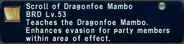 Dragonfoe Mambo