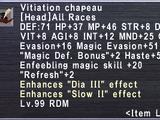 Vitiation Chapeau
