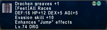 Drachen Greaves +1