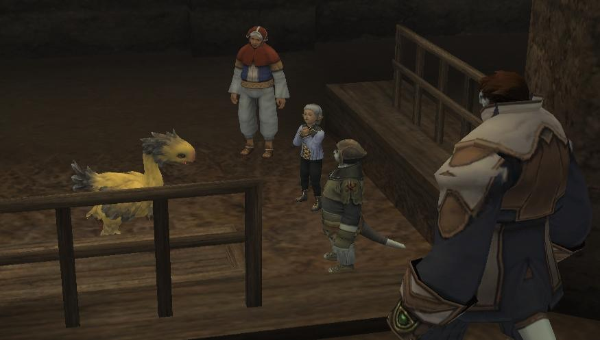 Chocobo Raising/Exhibit to the Public