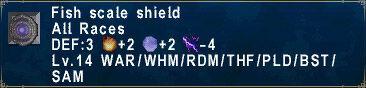 Fish Scale Shield