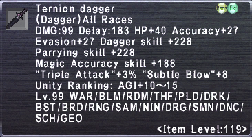 Ternion Dagger
