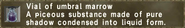 Umbral Marrow