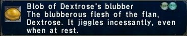 Dextrose's Blubber