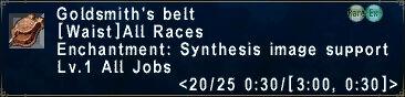 Goldsmith's Belt