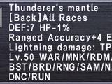 Thunderer's Mantle