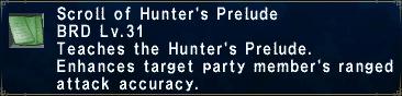 Hunter's Prelude