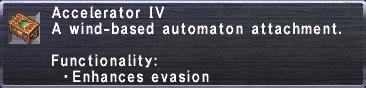 Accelerator IV