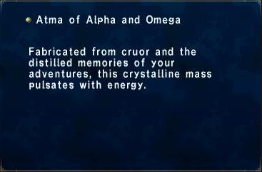 Atma of Alpha and Omega