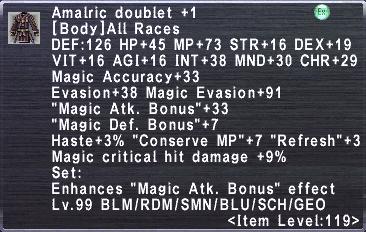 Amalric Doublet +1
