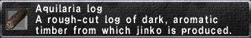 Aquilaria Log