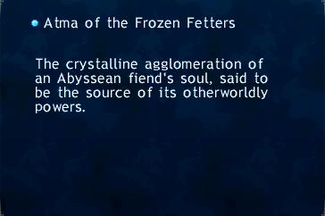 Atma of the Frozen Fetters