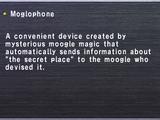 Moglophone (Key Item)