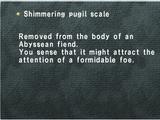 Shimmering pugil scale