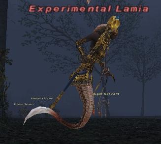 Experimental Lamia