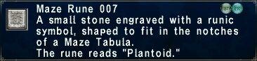 Maze Rune 007