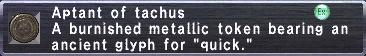 Aptant: Tachus