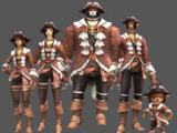 Corsair's Attire Set
