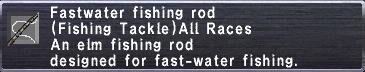 Fastwater Fishing Rod