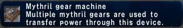 Mythril Gear Machine