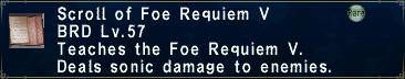 Foe Requiem V