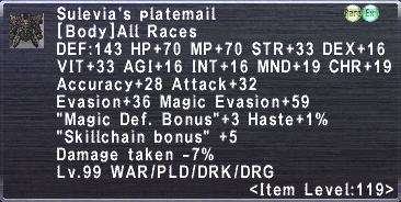 Sulevia's Platemail