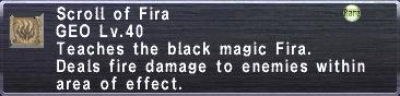 Scroll of Fira