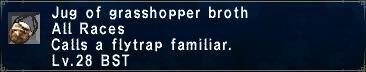 Grasshopper Broth