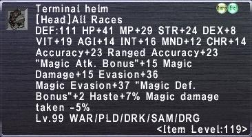 Terminal Helm