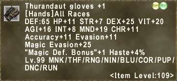 Thurandaut Gloves +1