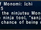 Monomi: Ichi