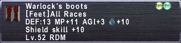 Warlock's Boots