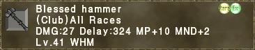 Blessed Hammer
