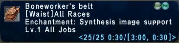 Boneworker's Belt