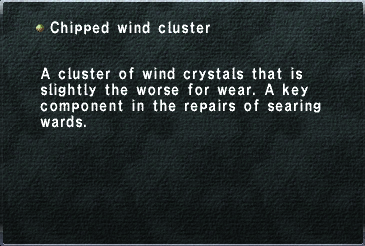 Chipped Wind Cluster