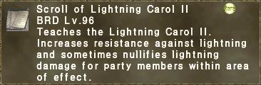 Lightning Carol II