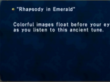 Rhapsody in Emerald