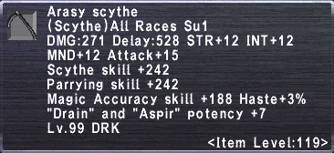 Arasy Scythe